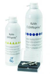CLEANspray/ DRYspray