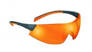 M+W Schutzbrille light orange