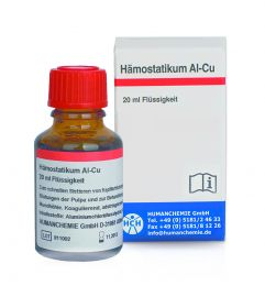 Hämostatikum Al-Cu 1