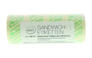 Sandwichetiketten für M+W SELECT ETIKETTIERER 1