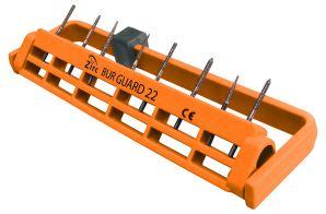 Steri-Bur Guard Bohrerständer groß für 22 Instrumente neonorange